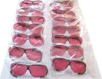 Vorbereitung einer Lieferung von Dynamik-Schießbrillen für Südkorea