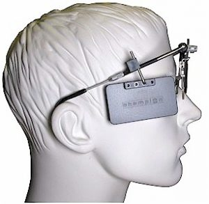 Seitenblende Champion Schießbrille Höhe verstellbar