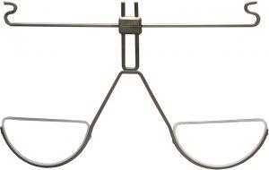 Der Nahvorsatz der Dynamik-Brille erspart den Wechsel zur Nahbrille.