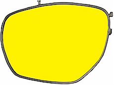 Dynamik Filter, gelb