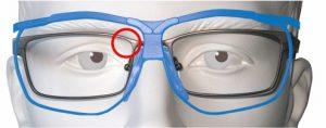 Keine Einschränkung des Sehfelds beim Schießen mit der Dynamik-Brille