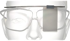 Dynamik shooting glasses with cover plate.