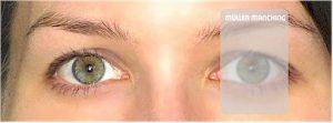 helle transparente Abdeckscheibe für Schießbrille