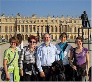Zwischen den Messetagen in Paris bleibt noch Zeit für einen Abstecher nach Versailles.