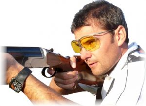 David Kostelecky of the Czech Republic, Olympic gold medal winner in trap shooting
