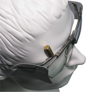 Der Verlauf des Gelenkbogens schützt vor Hülsen.